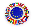 The european union d very beautiful image Stock Photo