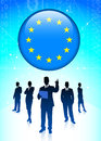 European union economic business team original vector illustration Stock Photography