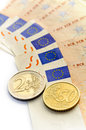 European Union - euro Royalty Free Stock Photography