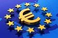 European Union financial concept Royalty Free Stock Photo