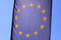 European union flag the of Royalty Free Stock Image