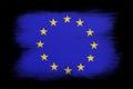 The European Union Flag Royalty Free Stock Photo