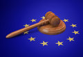 European union legislature and legal issues concept Royalty Free Stock Images