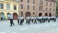Europride parade in Oslo police