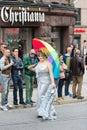 Europride parade in Oslo umbrella