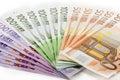 Euros Royaltyfri Foto