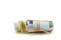 Euros Money Royalty Free Stock Photo