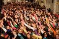 Eurovision flash mob dance moments Stock Photos