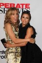 Eva longoria felicity huffman desperate housewives Foto de archivo