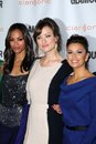 Eva longoria olivia wilde zoe saldana at the glamour reel moments premiere dga los angeles ca Stock Image