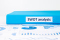 Evaluate and planning projects with SWOT analysis and business g Royalty Free Stock Photo