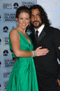 Evangeline Lilly,Naveen Andrews Royalty Free Stock Photo
