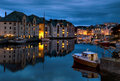 Evening in Alesund Royalty Free Stock Photos