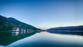 Evening By An Alpine Lake In S...
