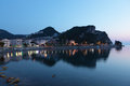 Evening in Amasra, Turkey Royalty Free Stock Photography