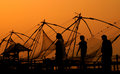 Evening In Chinese Fishing Nets