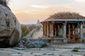 Evening in Hampi, time before sunset