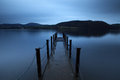 Evening Light on Ullswater Royalty Free Stock Photos
