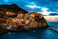 Evening in Manarola Royalty Free Stock Photo