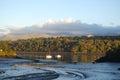 Evening peace Menai Strait Wales Royalty Free Stock Photo
