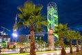 Evening promenade Royalty Free Stock Photo