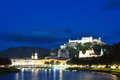 Evening Salzburg, Austria Royalty Free Stock Photo