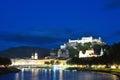 Evening Salzburg, Austria Royalty Free Stock Photo