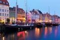 Scenérie z v kodaň dánsko