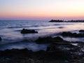 Evening at Sea Royalty Free Stock Photo