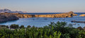 Evening seascape panorama, Rhodes island, Greece Royalty Free Stock Photo