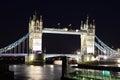 Evening Tower Bridge, London, UK Royalty Free Stock Photo