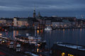 Evening view on Stockholm Royalty Free Stock Photo