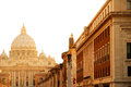 Evening view on the Vatican in Rome Stock Photography