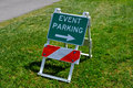 Event Parking Royalty Free Stock Photo