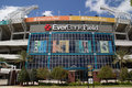 Everbank field jacksonville fl april in jacksonville is an american football stadium in downtown jacksonville and Stock Photos