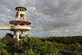Everglades Observation Tower Stock Image