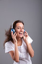 Everybody dance now! Royalty Free Stock Photo