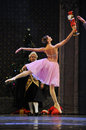 Everybody wants to touch the doll-The Ballet  Nutcracker Royalty Free Stock Photo