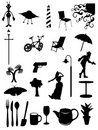 Everyday Items Icons & Symbols Stock Images