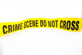 Evidence bag with evidence sealing tape  for crime scene Royalty Free Stock Photo