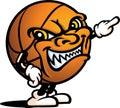 Evil basketball guy Stock Photography