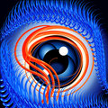 Evil Eye Royalty Free Stock Photo