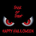 Evil eyes Halloween background Royalty Free Stock Photo