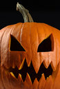 Evil pumpkin for halloween Royalty Free Stock Images