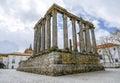 Evora, Portugal. Roman Temple Diana
