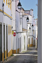 Evora street Royalty Free Stock Photo