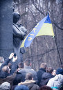 Evromaydan rallies activists in Ukraine Stock Photos