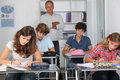 Exam day Royalty Free Stock Photography