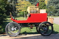 Exbury gardens steam car uk october old stream powered vehicle Royalty Free Stock Images