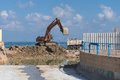 Excavating enable better water steaming this site is to a stream of to sea Royalty Free Stock Images